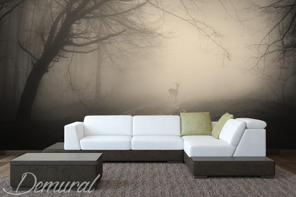 Deer hunter - Sepia photo wallpaper