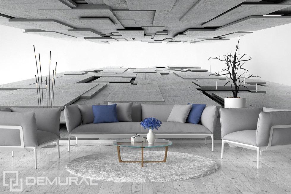 Into the spacetime depth - 3D Photo wallpaper