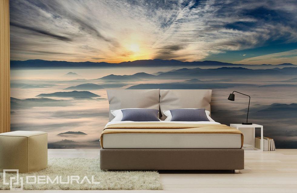 In world of rising sun - 3D Photo wallpaper