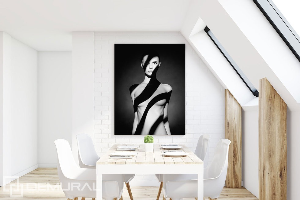 Ethereal beauty - Canvas print