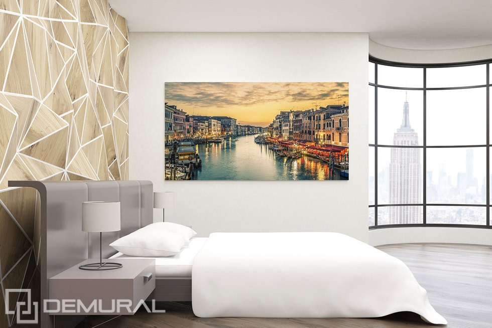 The dreams of flowing water - Canvas print