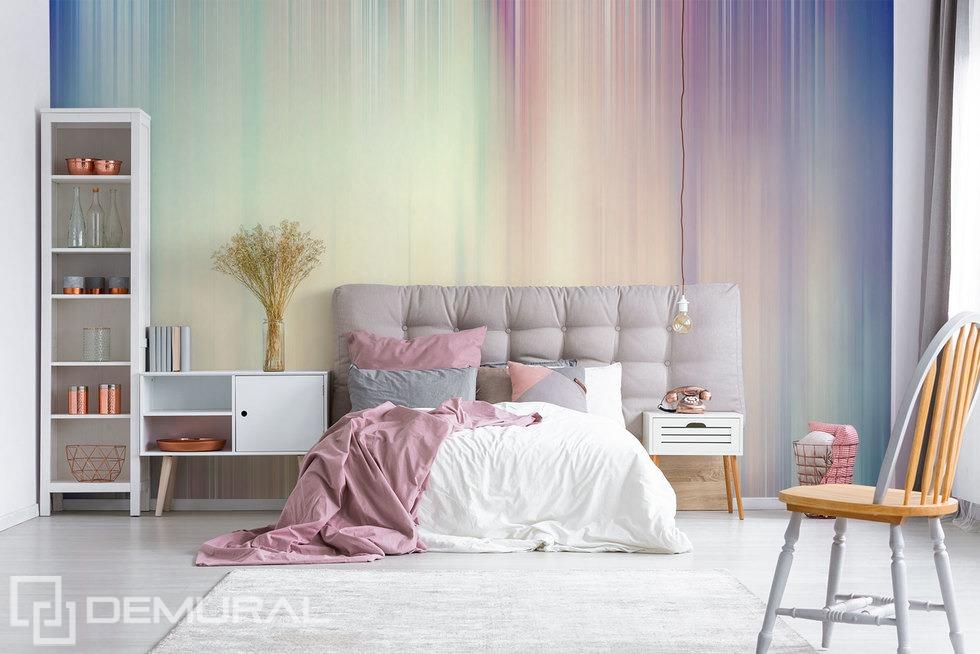 "Photo wallpaper ""Fleeting moments"" - Pastel photo wallpaper - Demural"