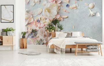Flower themed Decorations - Demural