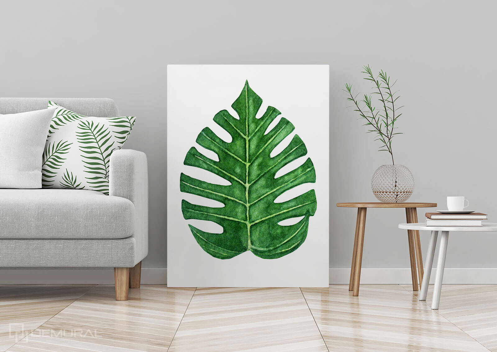 Canvas print Tropical leaves - Canva prints in tropical leaves