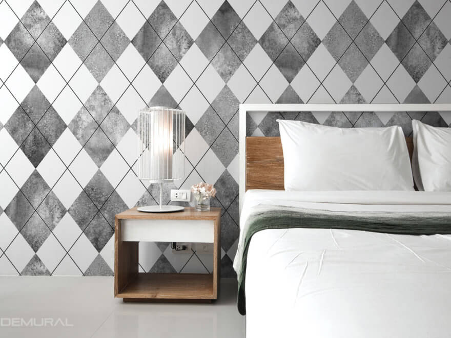 Geometric photo wallpaper - Demural