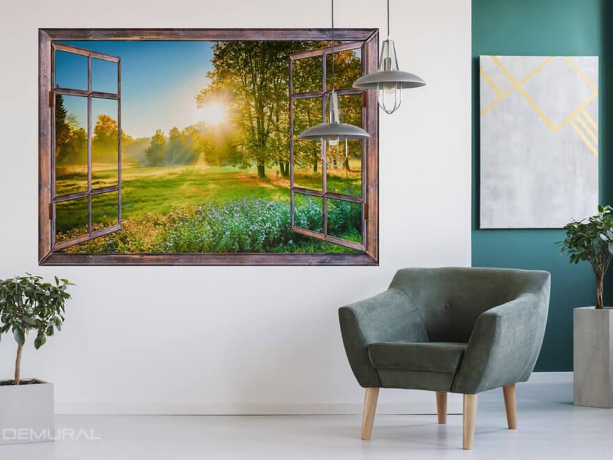 Photo wallpaper window - Demural