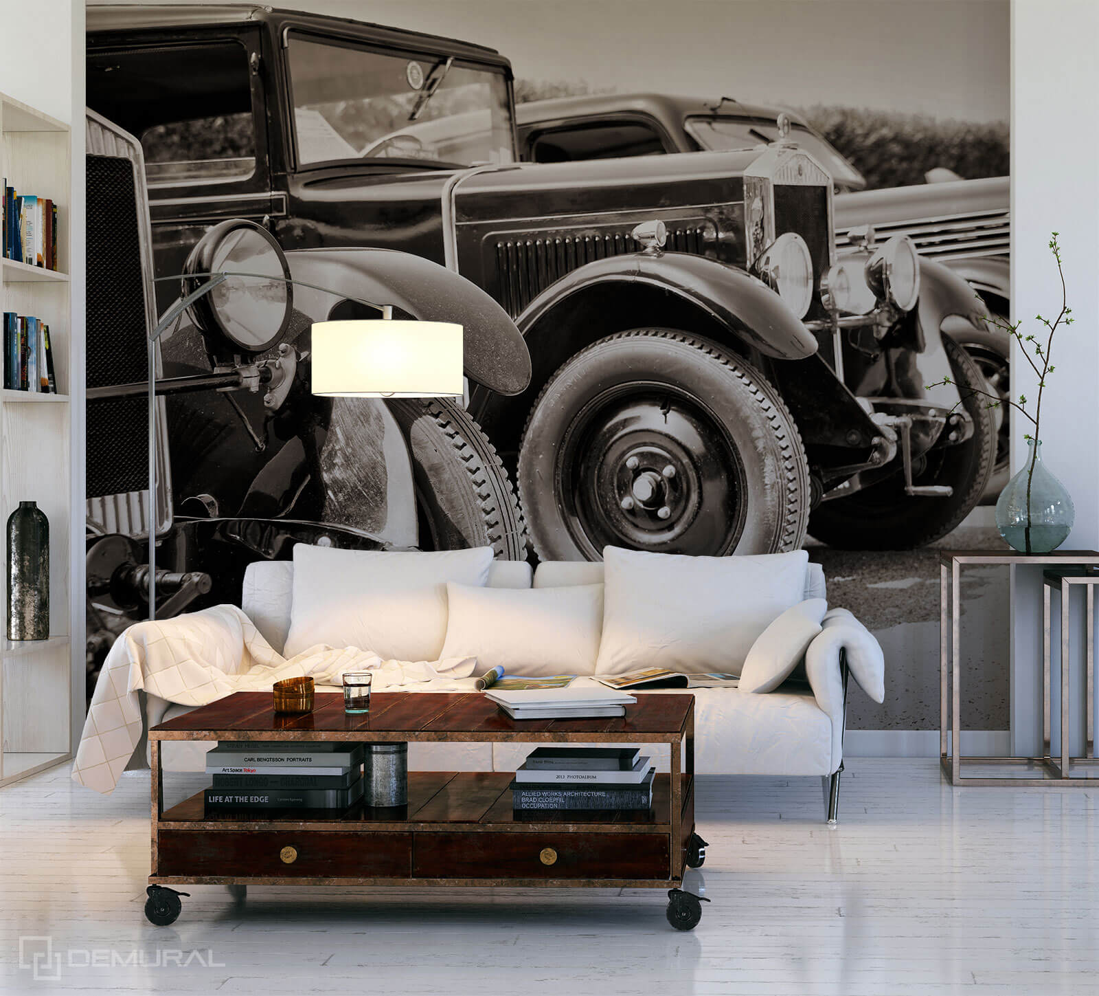 Photo wallpaper Antique cars - Photo wallpaper car - Demural