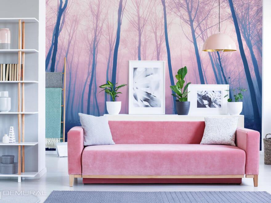 Pink photo wallpaper - Demural