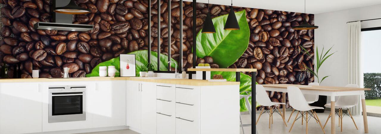 Coffee photo wallpaper