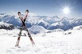 Winter meeting - Ski Photo wallpaper