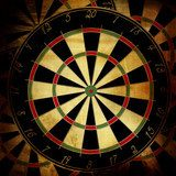 Personal darts – photo wallpaper