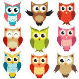 How many owls are there? Owls counting.