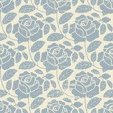 Rosy photo wallpaper in vintage style