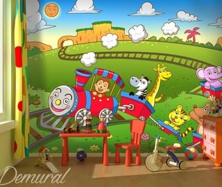 toys switched on childs room wallpaper mural photo wallpapers demural
