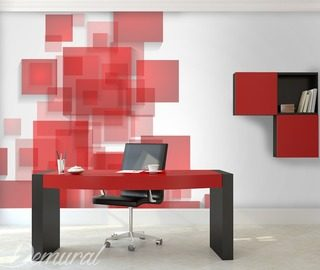 controlled chaos office wallpaper mural photo wallpapers demural