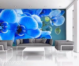azzurro that is bluely living room wallpaper mural photo wallpapers demural