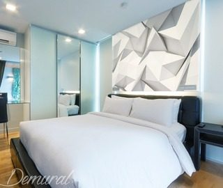 a bedroom origami bedroom wallpaper mural photo wallpapers demural
