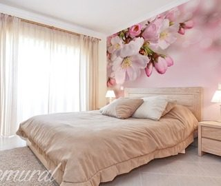 pastel love bedroom wallpaper mural photo wallpapers demural