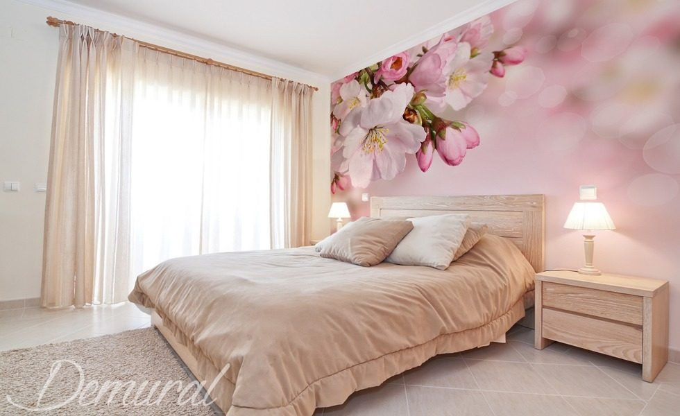 Love couple Wallpaper In Bedroom : Pastel-love - Bedroom wallpaper mural - Photo wallpapers - Demural