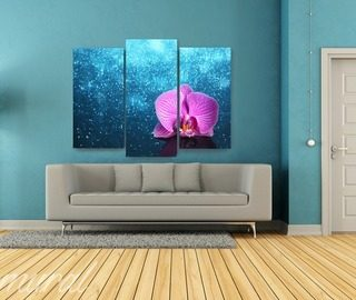 triple relaxation canvas prints in living room canvas prints demural