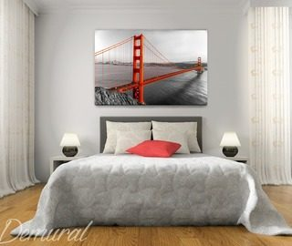 private san francisco canvas prints in bedroom canvas prints demural