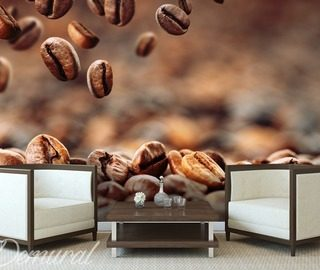 hung coffee cafe wallpaper mural photo wallpapers demural