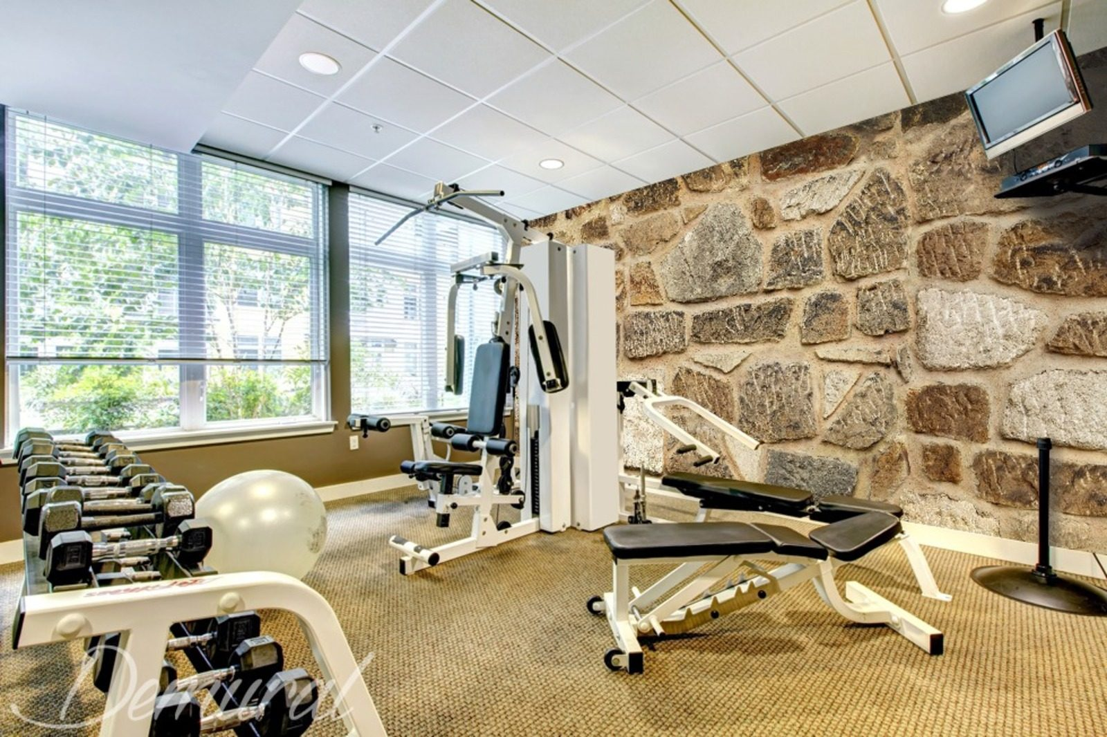 grace motivation elevation gym wallpaper mural