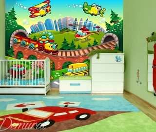 A-soft-landing-wall-murals-and-photo-wallpapers-in-child-s-room-photo-wallpapers-demural