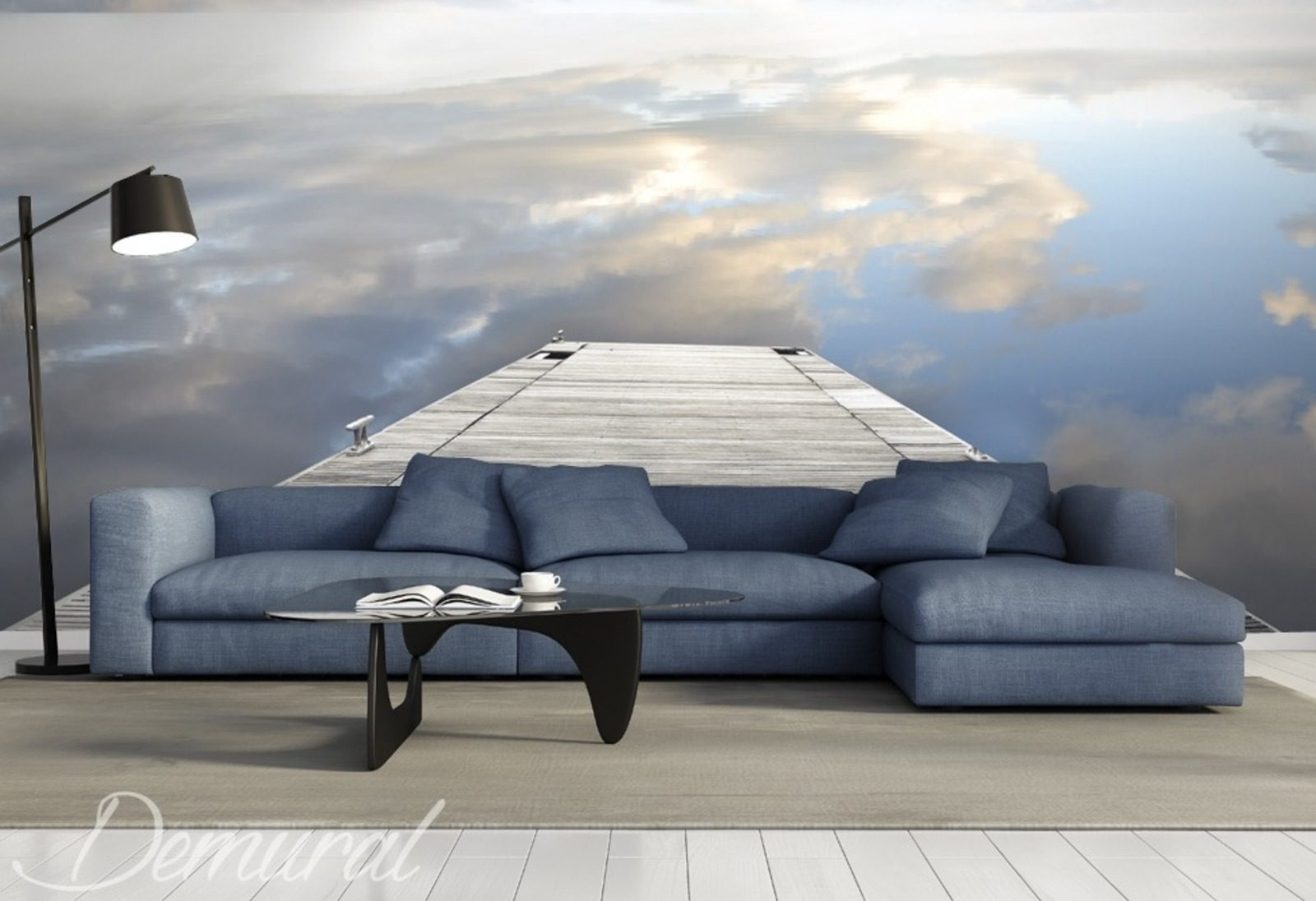 promenade to heaven sky wallpaper mural photo. Black Bedroom Furniture Sets. Home Design Ideas