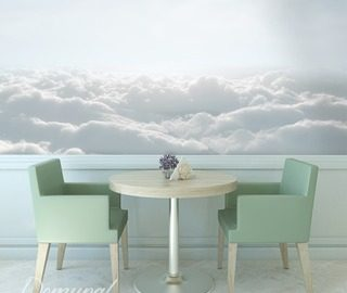 vanilla sky cafe wallpaper mural photo wallpapers demural
