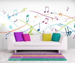 music to your eyes teenagers room wallpaper mural photo wallpapers demural
