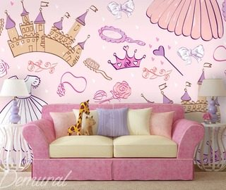 A-princesss-chamber-wall-murals-and-photo-wallpapers-in-child-s-room-photo-wallpapers-demural
