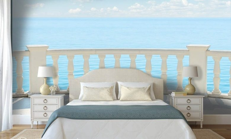 a bed room porch bedroom wallpaper mural photo wallpapers demural