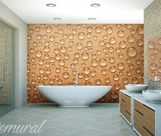 a foam bath bathroom wallpaper mural photo wallpapers demural