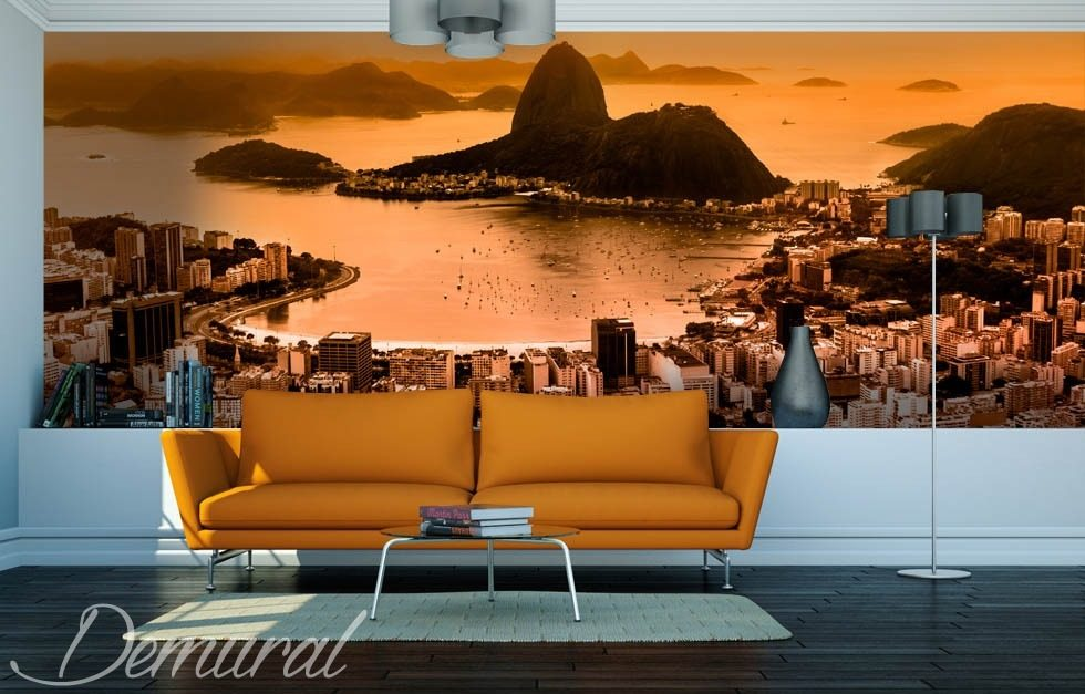 The Sunny Bay Landscapes wallpaper mural Photo wallpapers Demural