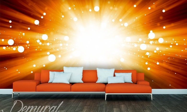 an energy explosion abstraction wallpaper mural photo wallpapers demural