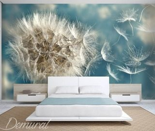 dandelion seeds in the wind dandelions wallpaper mural photo wallpapers demural