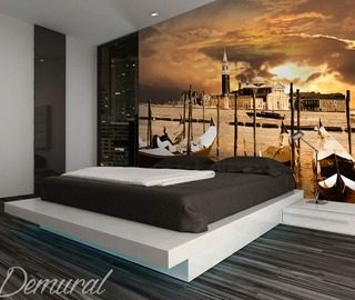 we warm up the atmosphere sunsets wallpaper mural photo wallpapers demural