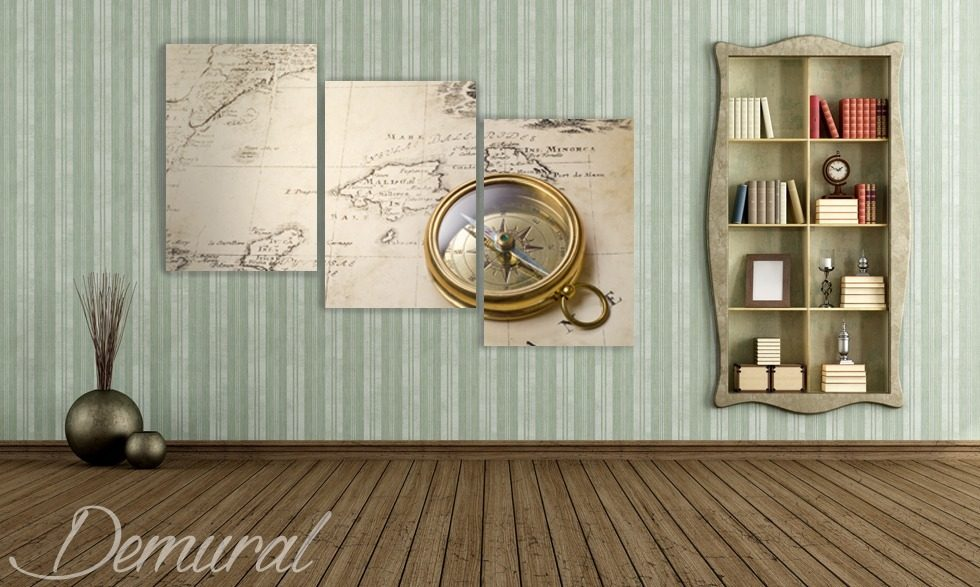 Direction – originality Canvas prints Retro Vintage Canvas prints Demural