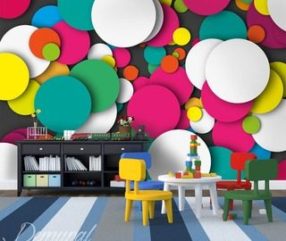 a mural kaleidoscope childs room wallpaper mural photo wallpapers demural