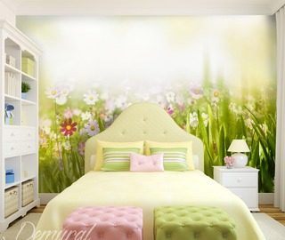 Joyful-spring-wall-murals-and-photo-wallpapers-in-child-s-room-photo-wallpapers-demural