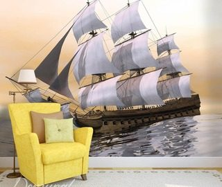 the drunken sailor living room wallpaper mural photo wallpapers demural