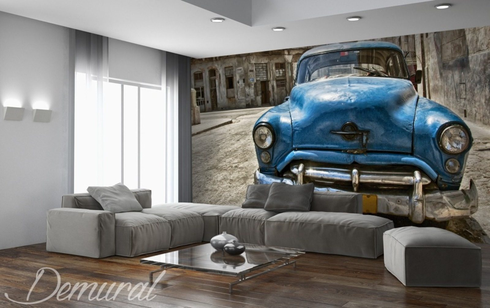 Havana club wall murals and photo wallpapers vehicles for Club de suscriptores mural