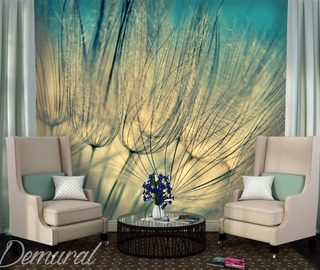 womens afternoon dandelions wallpaper mural photo wallpapers demural