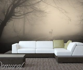 deer hunter living room wallpaper mural photo wallpapers demural