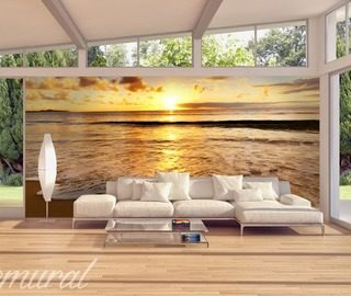 a cruise to the sun sunsets wallpaper mural photo wallpapers demural