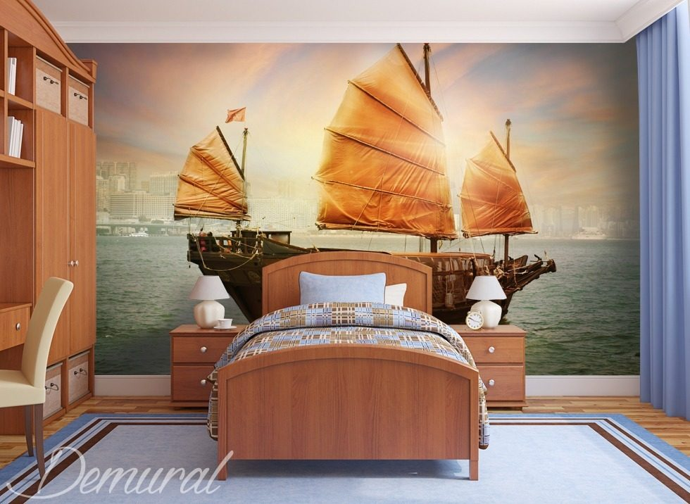 Baywatch Boy's room wallpaper mural Photo wallpapers Demural