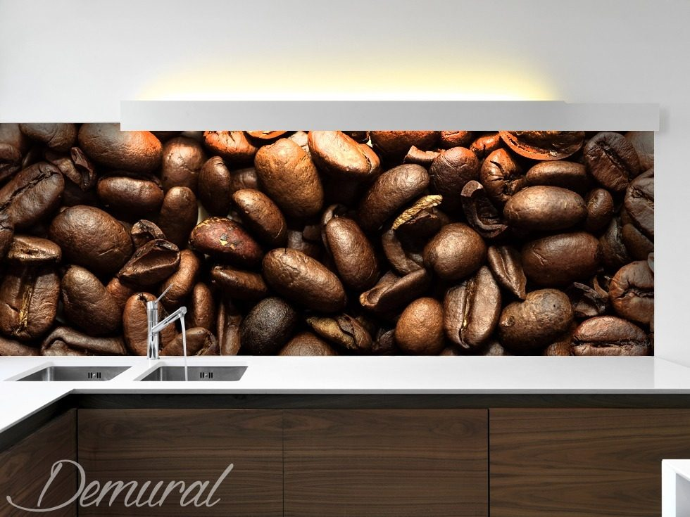 arabica or robusta kitchen wallpaper mural photo wallpapers demural