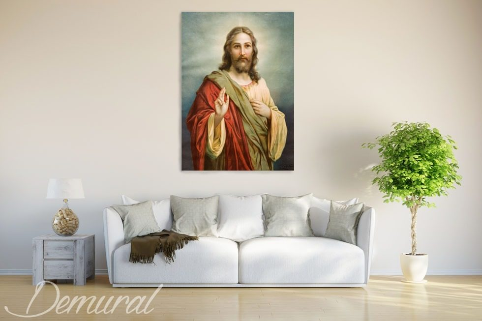 Under the loving care Canvas prints Religious Canvas prints Demural
