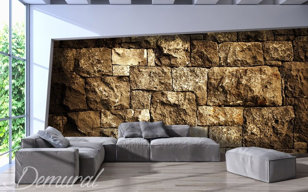 Digital fortress wall wallpaper mural photo wallpapers for Digital wallpaper mural